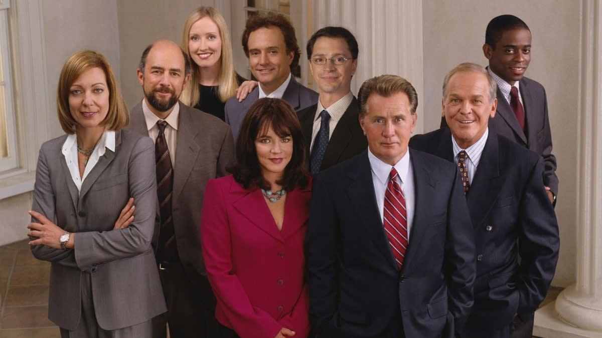 "HBO Max Redistricts ""The West Wing""; More Greg Berlanti DCU News Coming"