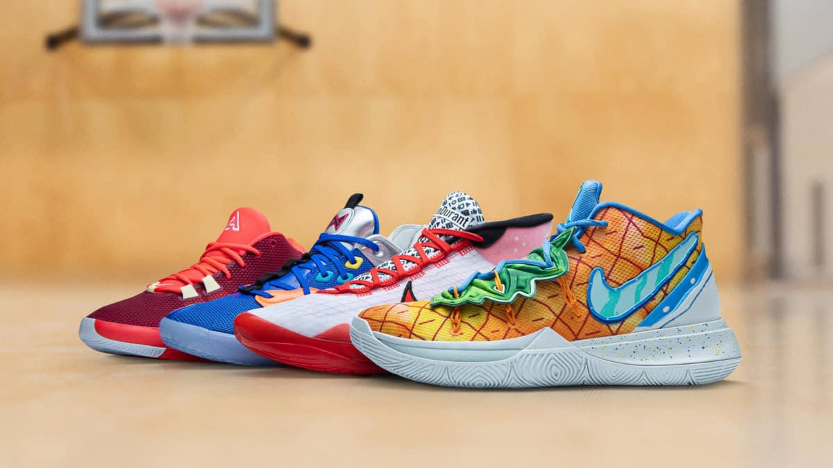 Nike's Basketball Signature Line Gets New Geeky Colorways