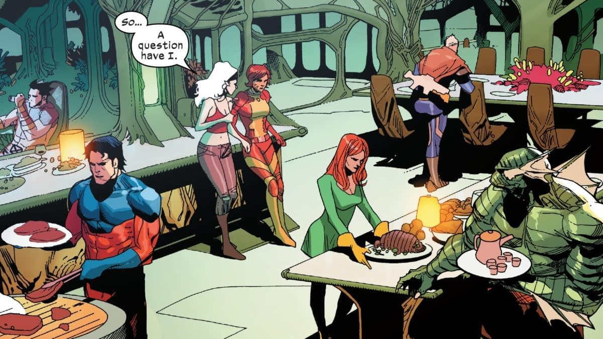Check Out Scott, Jean and Logan's Living Arrangements in X-Men #1 (Spoilers)