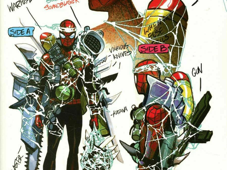 Unicorn No More, Deadpool, Everyone's Combining Symbiotes in Today's Absolute Carnage Comics
