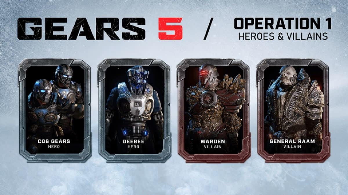 """Gears 5"" Just Introduced A New Set Of Characters"