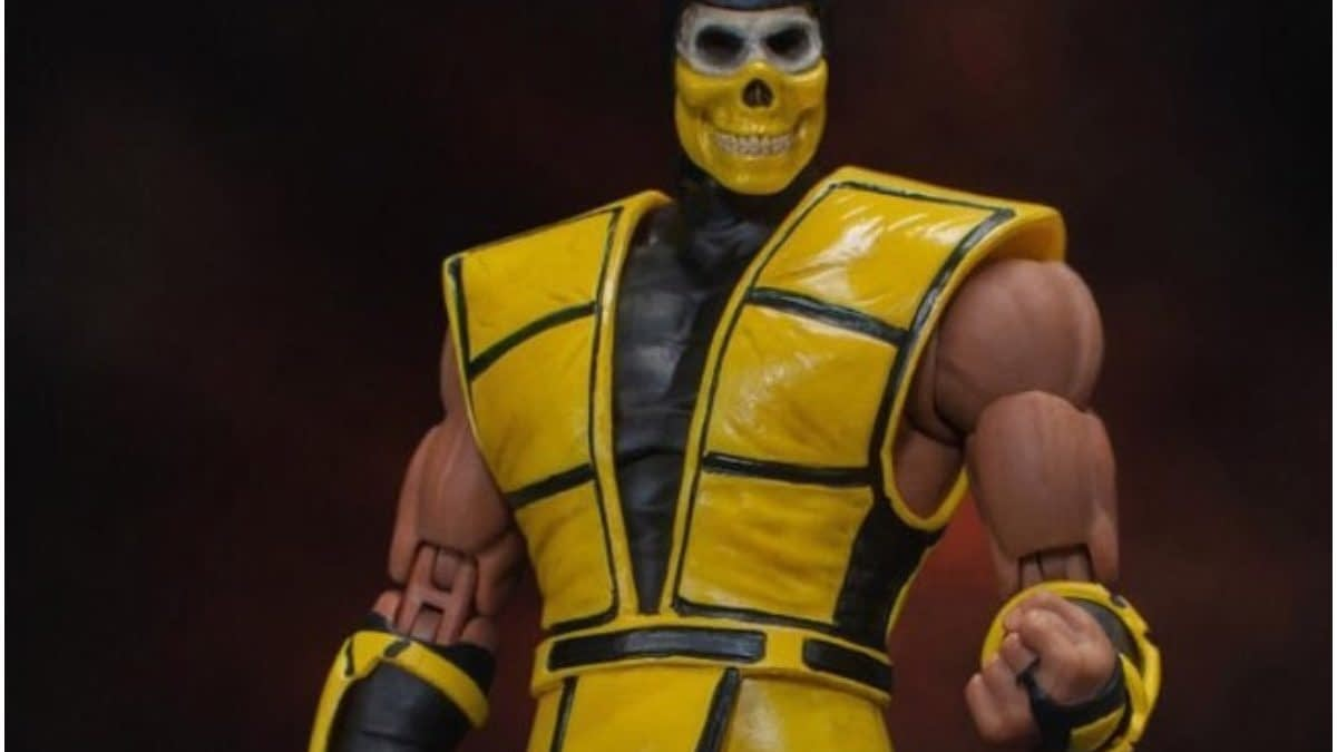 "Scorpion Shows His True Face In New BBTS Exclusive ""Mortal Kombat"" Figure"