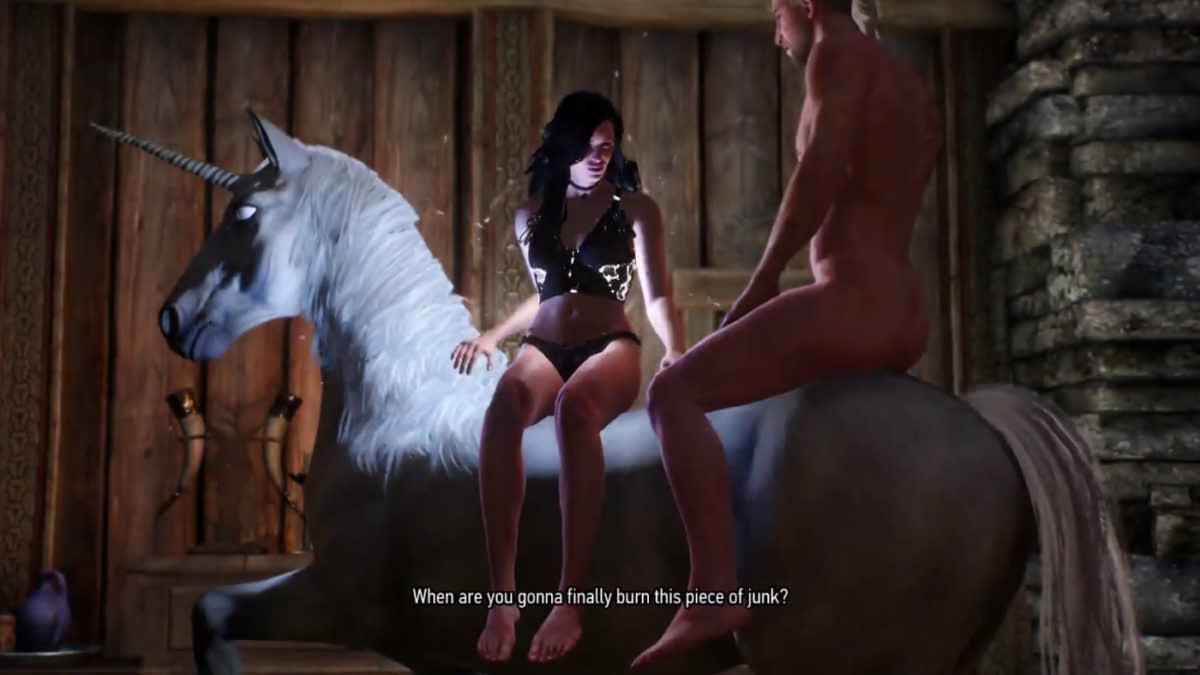 "Apparently No One Wanted To Write The Sex Scenes In ""The Witcher 3: Wild Hunt"""