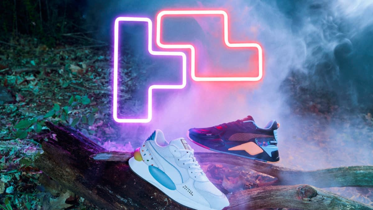 "PUMA Announces New ""Tetris"" Sneakers & Apparel"