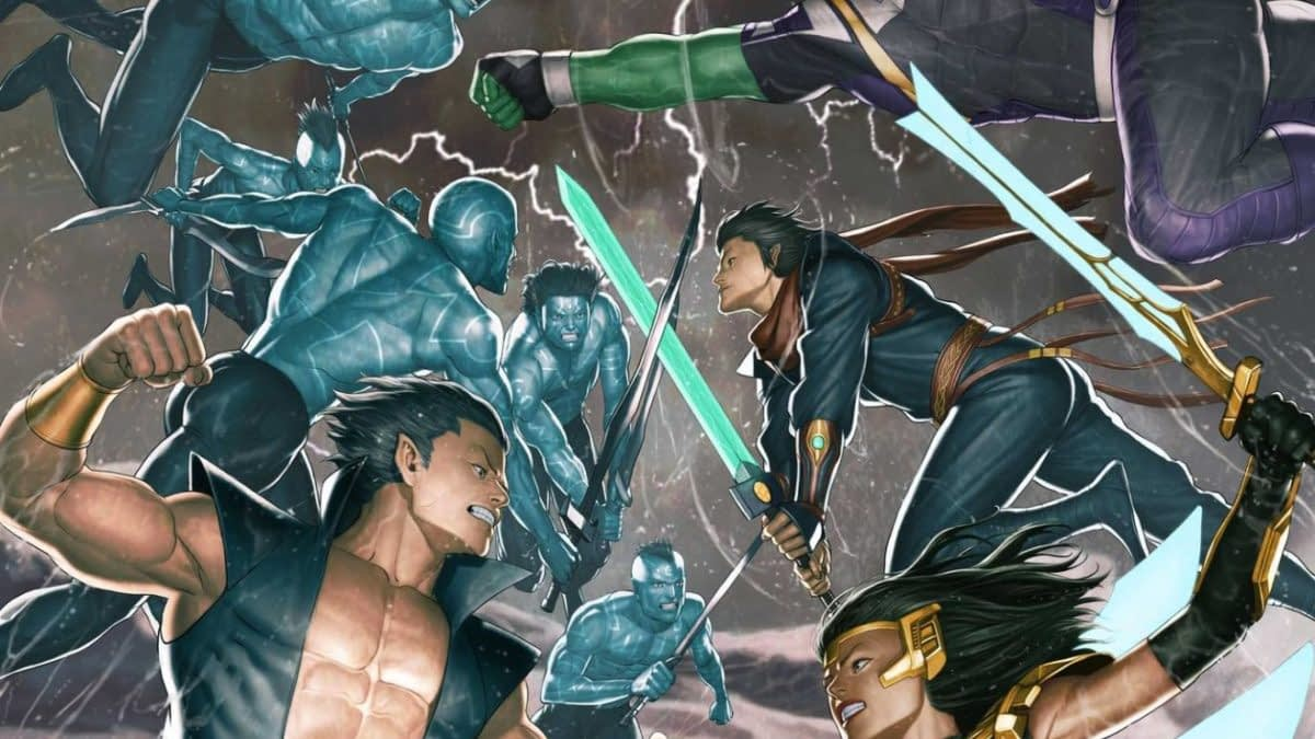 Atlantis Attacks... Again at Marvel in January from Greg Pak and Ario Anindito