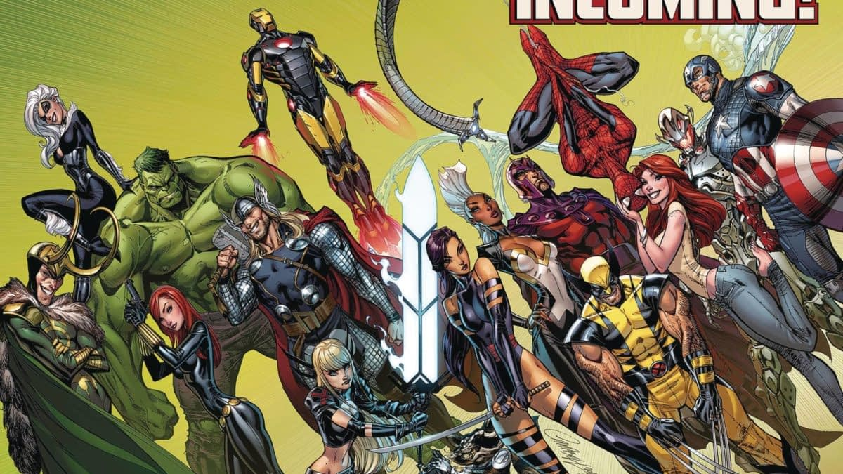 "Marvel Comics 2020 Calendars Giveaways to Promote ""Incoming"""