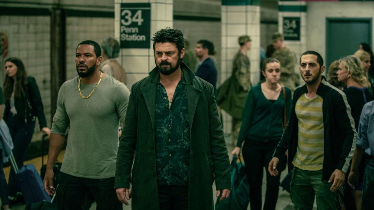 """The Boys"": Eric Kripke Reveals Patton Oswalt Set for Season 2 ""#SecretRole"""