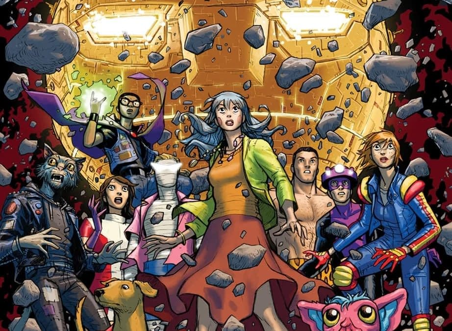 DC Cancels Doom Patrol: Weight of The Worlds With #7, Brian Azzarello's Birds Of Prey Now Just a One-Shot