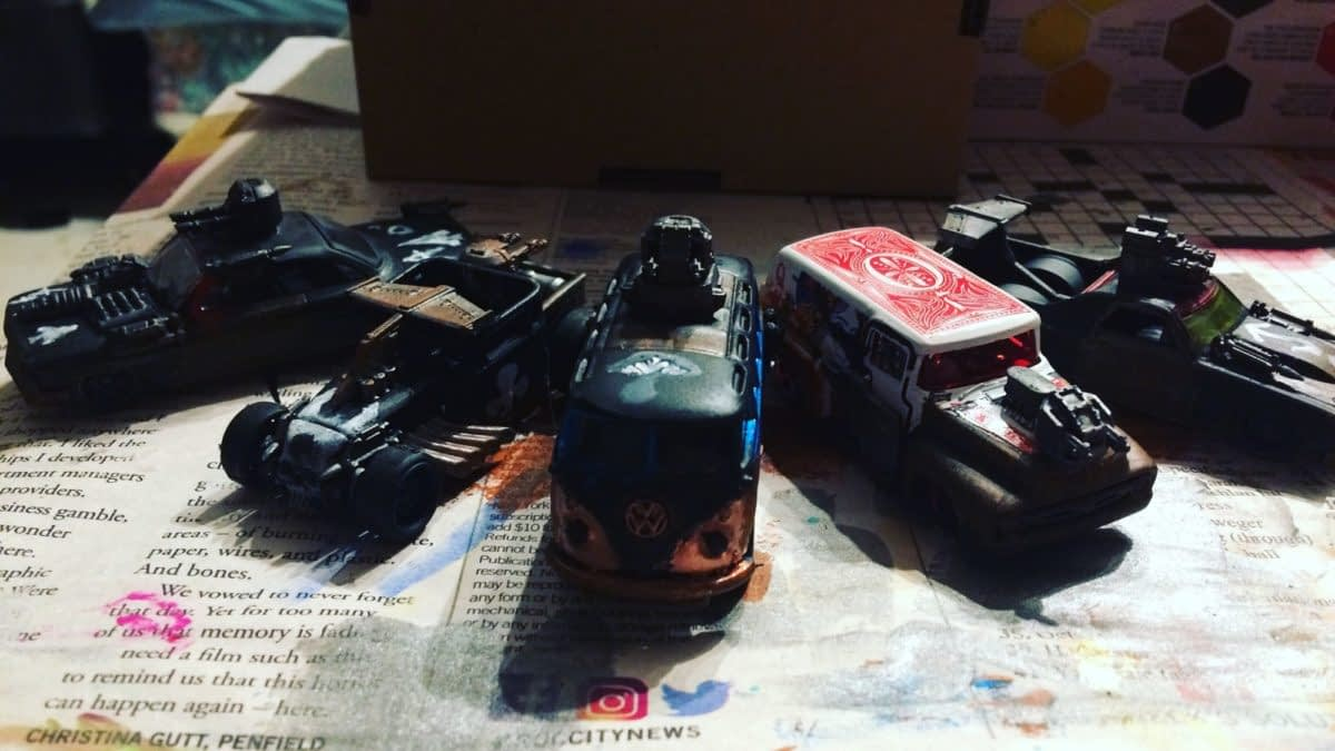 "Hobby: Building The War Rig For ""Gaslands: Refuelled"""