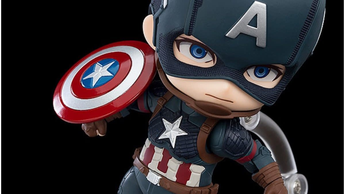 "Captain America Is Getting An ""Avengers: Endgame"" Nendoroid"