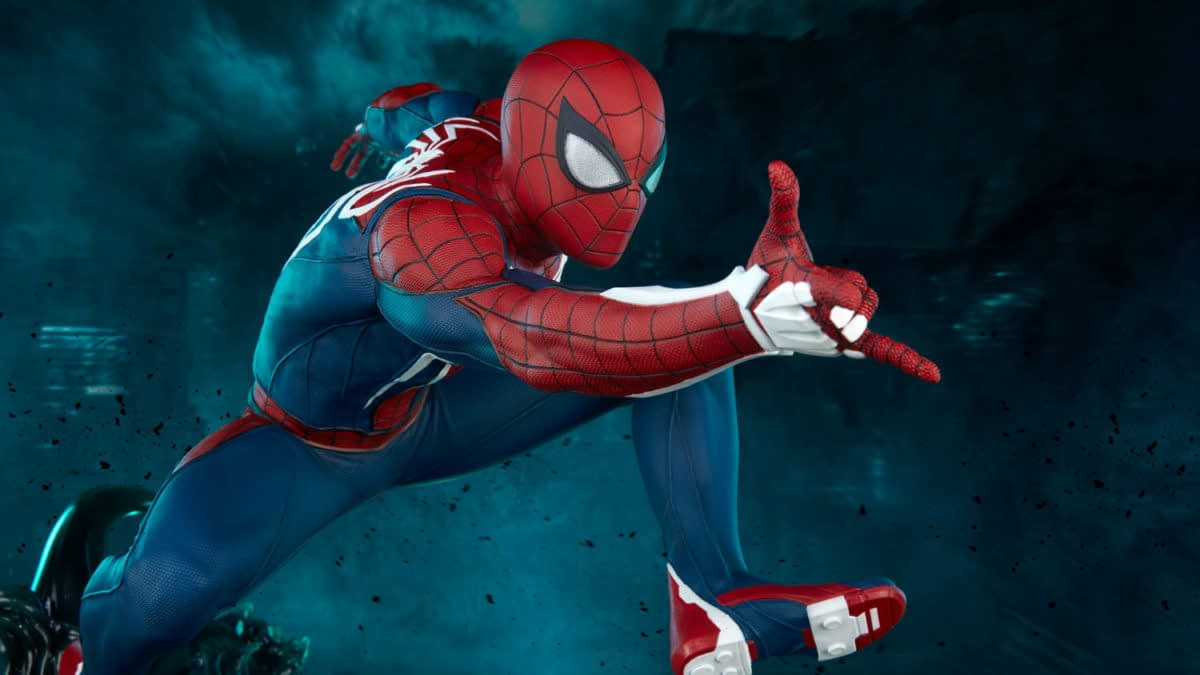 PS4 Spider-Man Thwips On Over With New Statue From PCS Collectibles