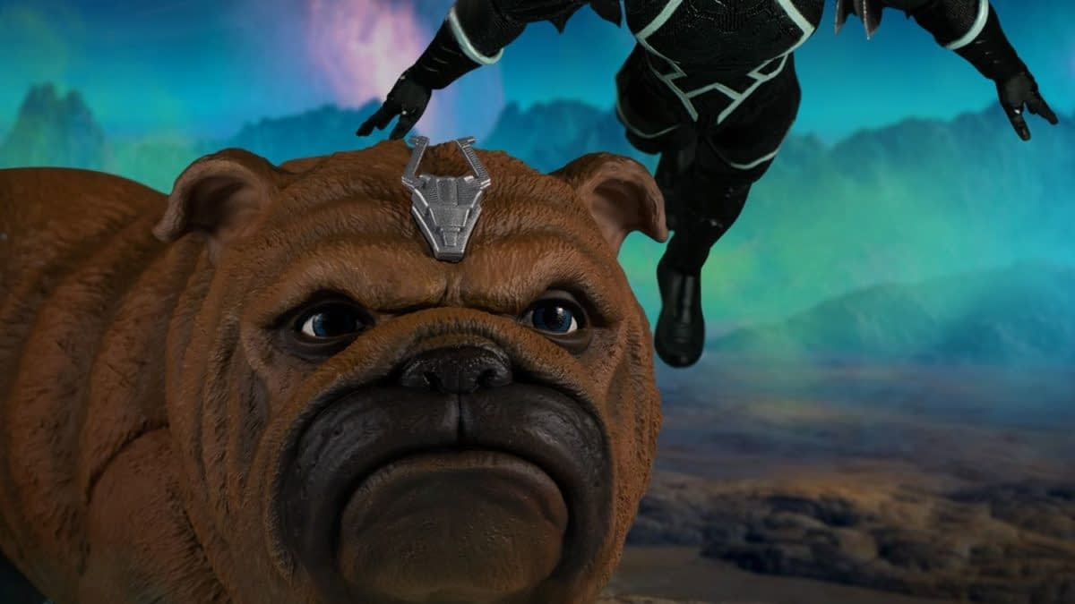 Black Bolt & Lockjaw Return From Attilan With A New Mezco Figure