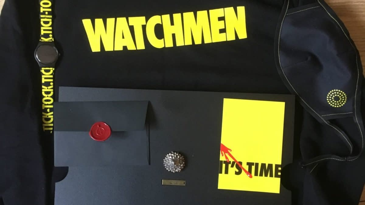 Unboxing a Big Box of HBO Watchmen Stuff - But Should I Have?