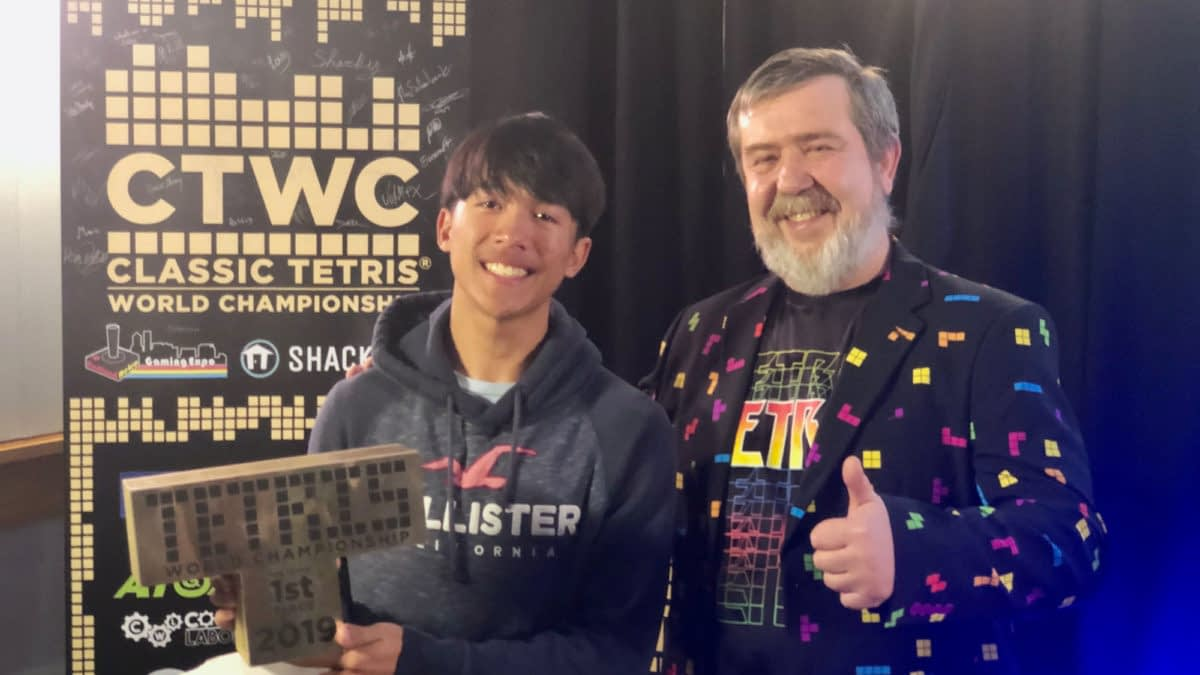 Joseph Saelee Wins The Classic Tetris World Championship