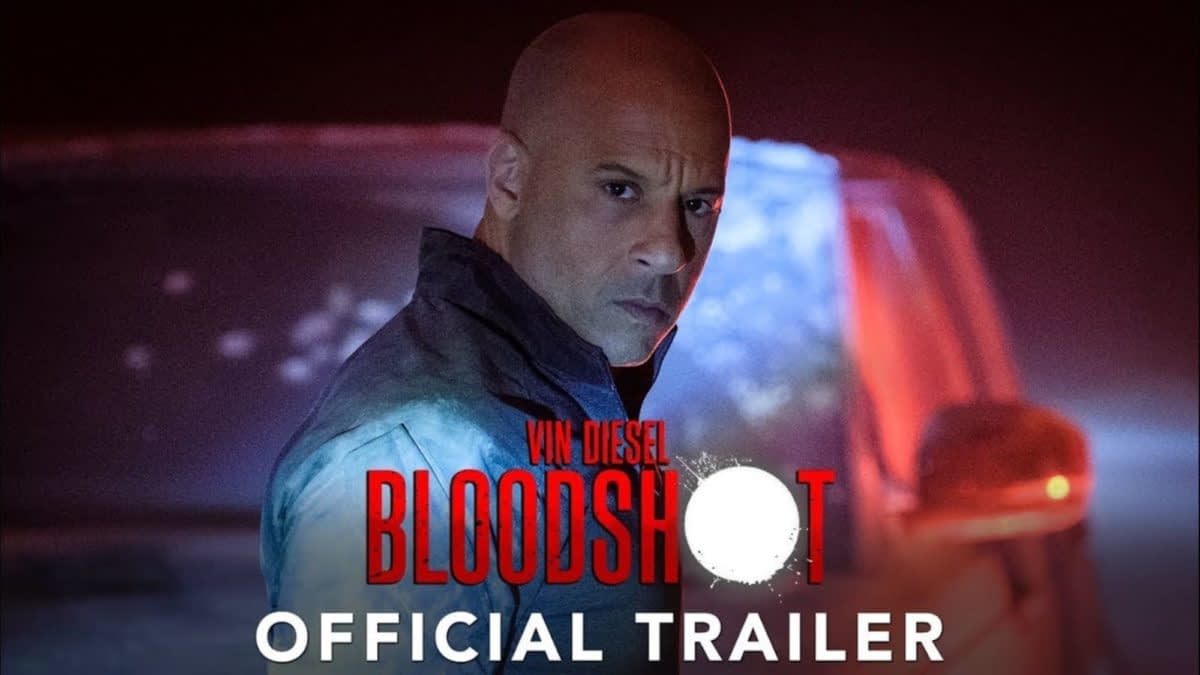 Robocop Meets Wolverine Meets Memento  - Vin Diesel and Guy Pearce in First Official Bloodshot Trailer Debut
