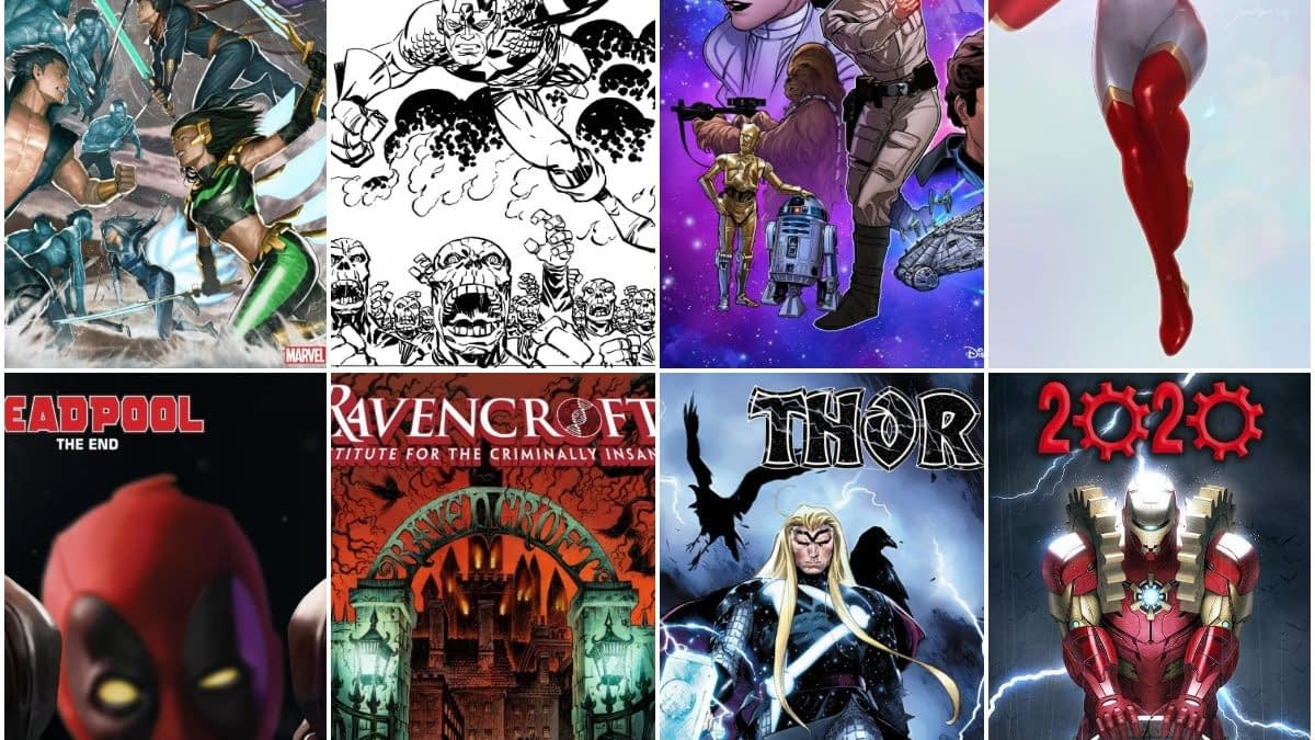 Marvel Comics January 2020 Solicitations, From Star to Ravencroft, 19 Frankensteined (UPDATE)