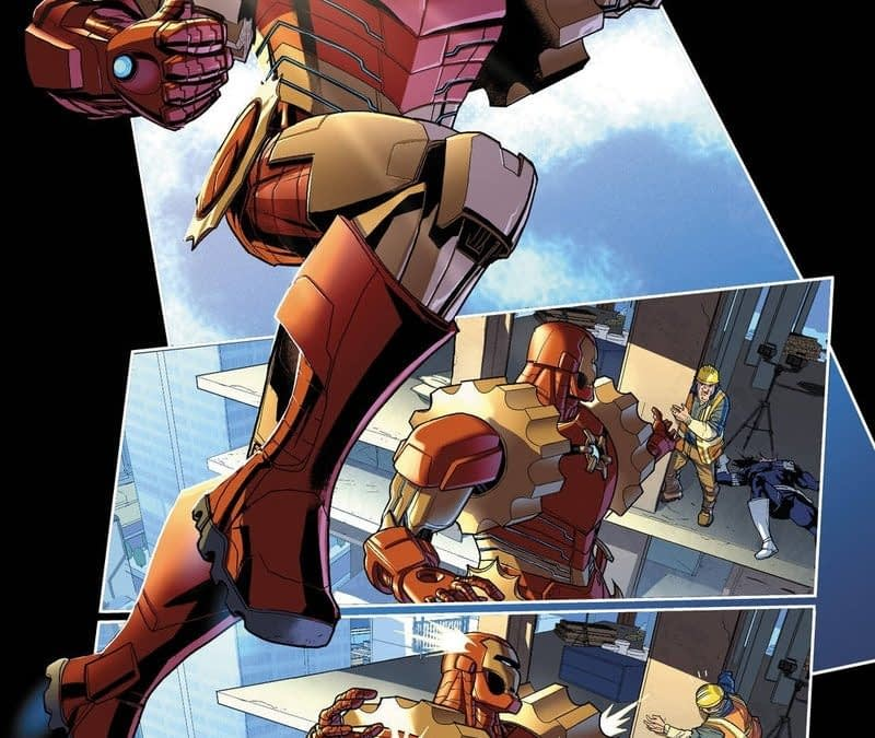 Marvel Comics to Launch Force Works, Machine Man, Rescue, Weapon.Exe and Ironheart For Iron Man 2020