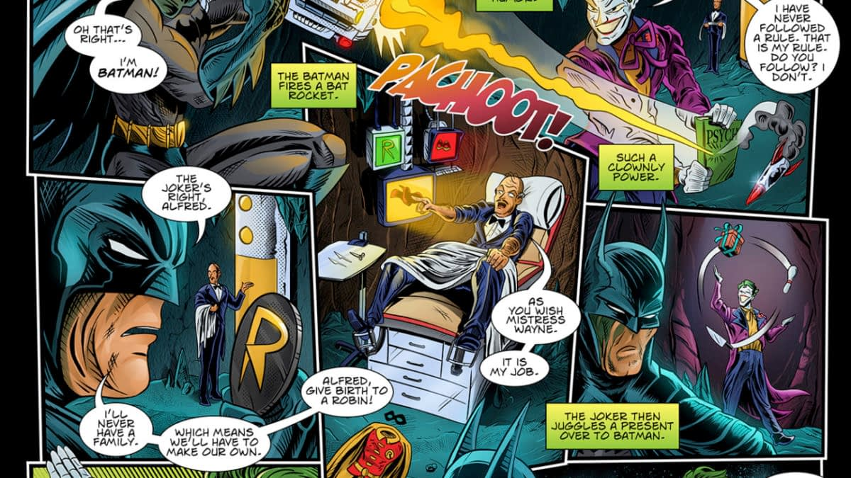 Remember That A.I. Generated Batman Screenplay? It's Just Been Adapted Into a Comic Book...