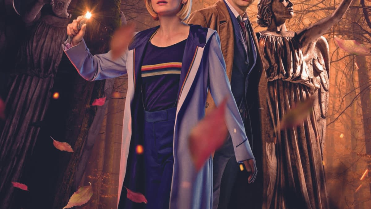 First Look at David Tennant's Doctor Meeting Jodie Whittaker's in Doctor Who - January 2020 Titan Solicits