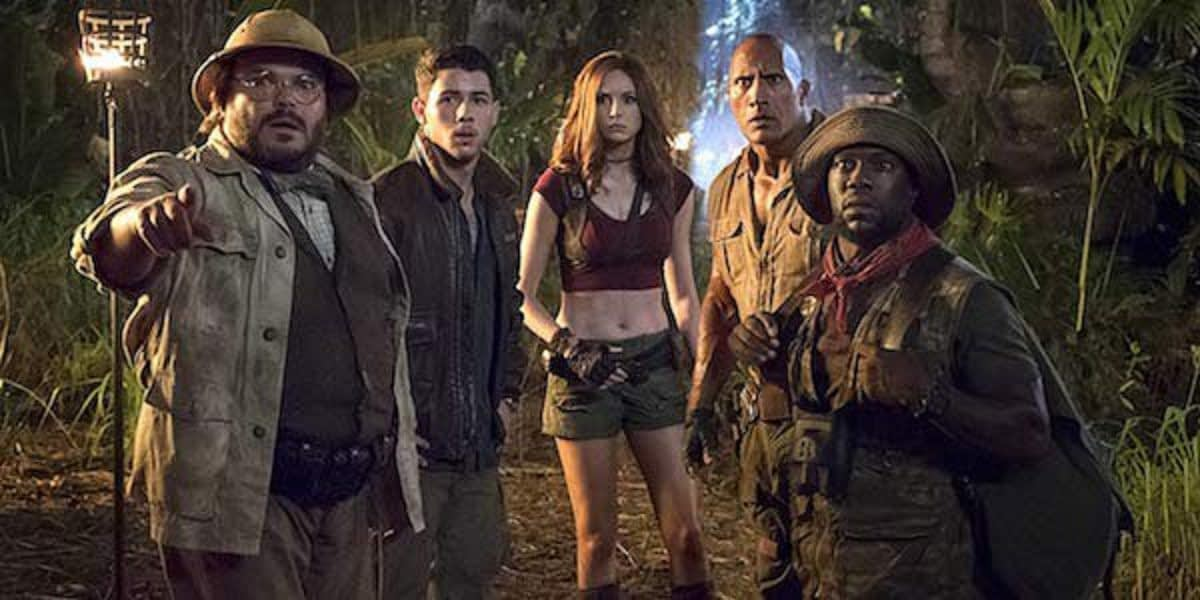 """Jumanji: The Next Level"" Kevin Hart Trolls Dwayne Johnson for Halloween and Final Trailer"