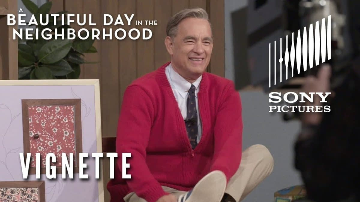 "Tom Hanks Talks Becoming Fred Rogers for ""A Beautiful Day in the Neighborhood"""