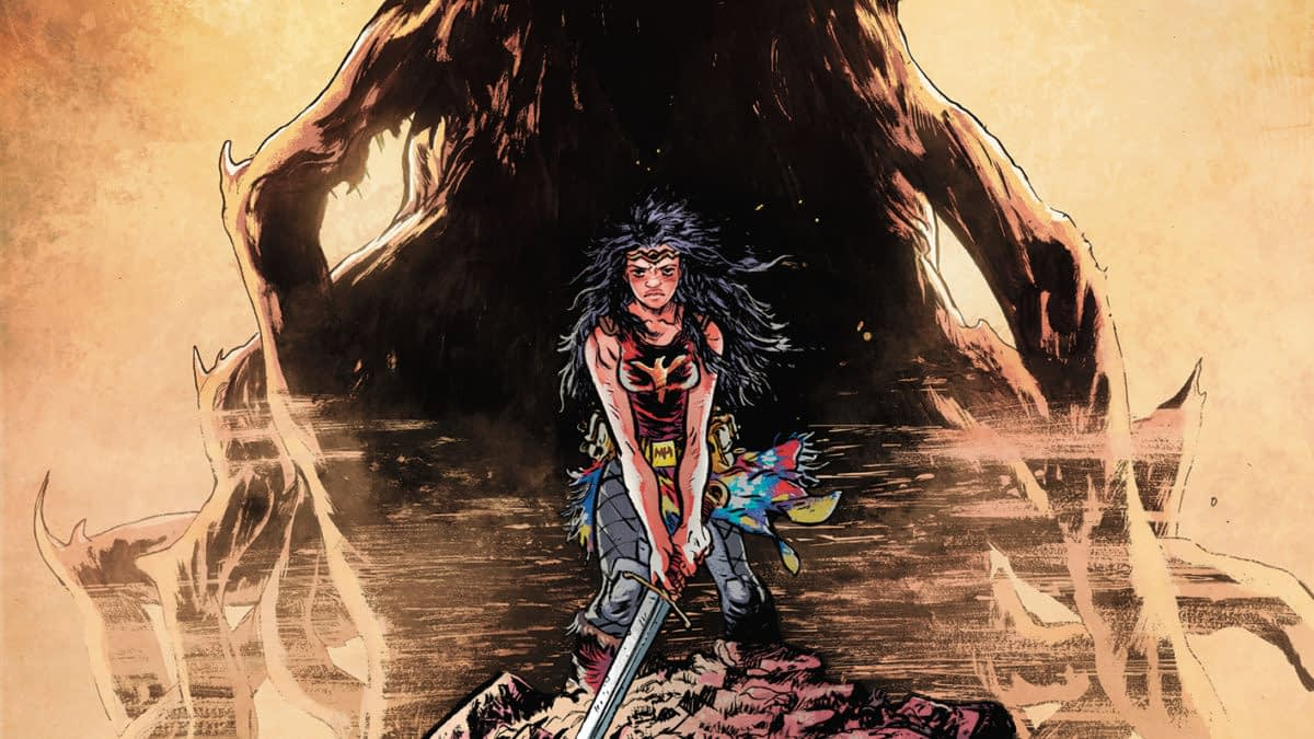 DC Reveals First Look at Daniel Warren Johnson's Wonder Woman: Dead Earth #1