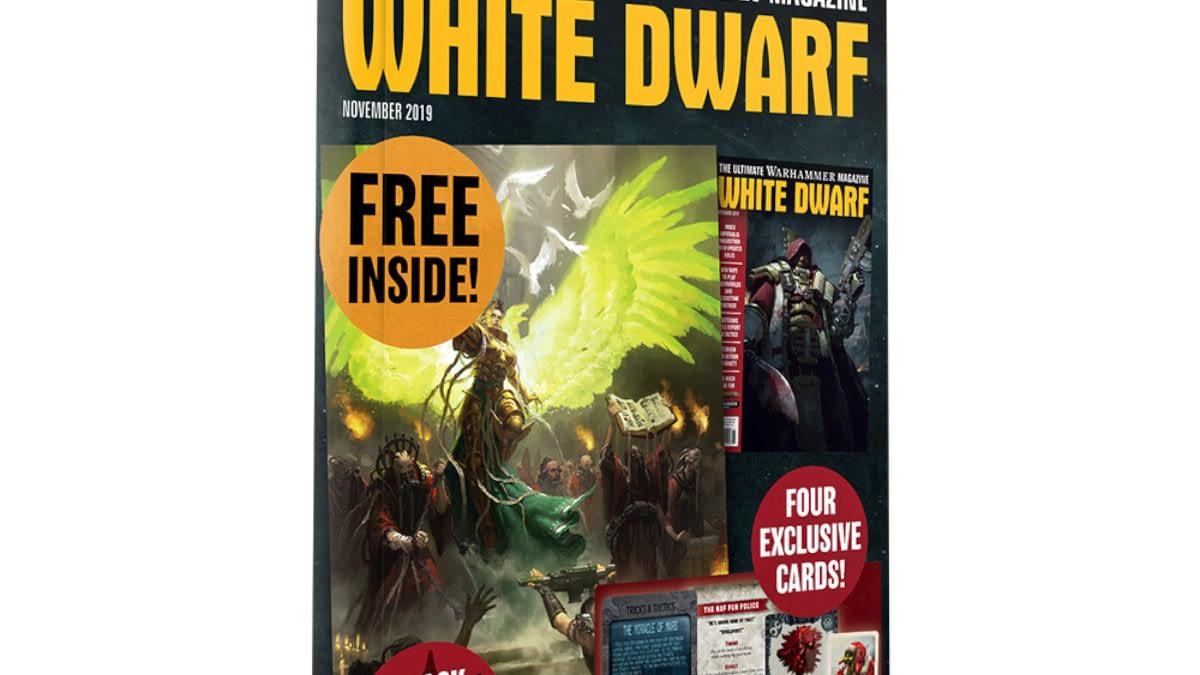 White Dwarf Details for November 2019