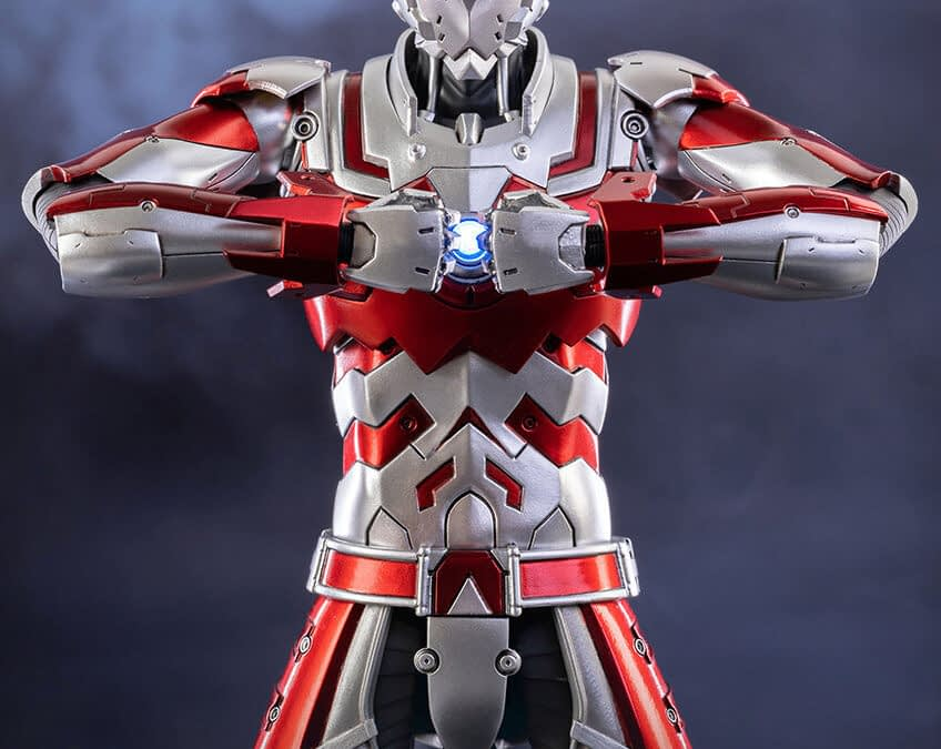 Ultraman is Ready for Battle with New Figure from Threezero