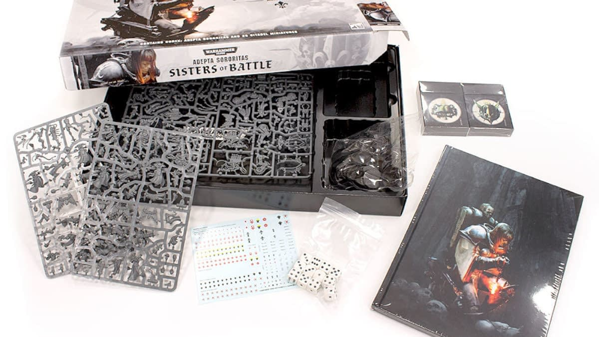 Games Workshop Reveals Sisters of Battle Army Set Contents