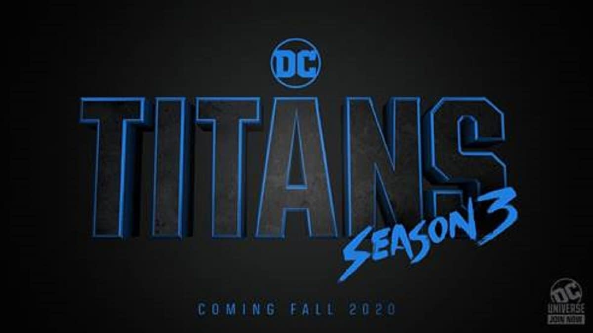 """Titans"": DC Universe, Warner Bros. TV Greenlight Season 3; Set for Fall 2020"