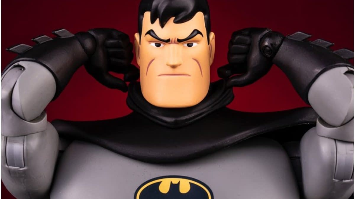 Batman Gets Animated in New 1/6th Scale Figure from Mondo