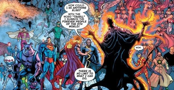 Dan DiDio's Description of The Fifth World from 2008 is Really, Really Similar to 5G