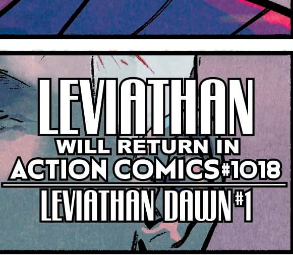 Brian Bendis to Launch Leviathan Dawn #1 From DC Comics in 2020