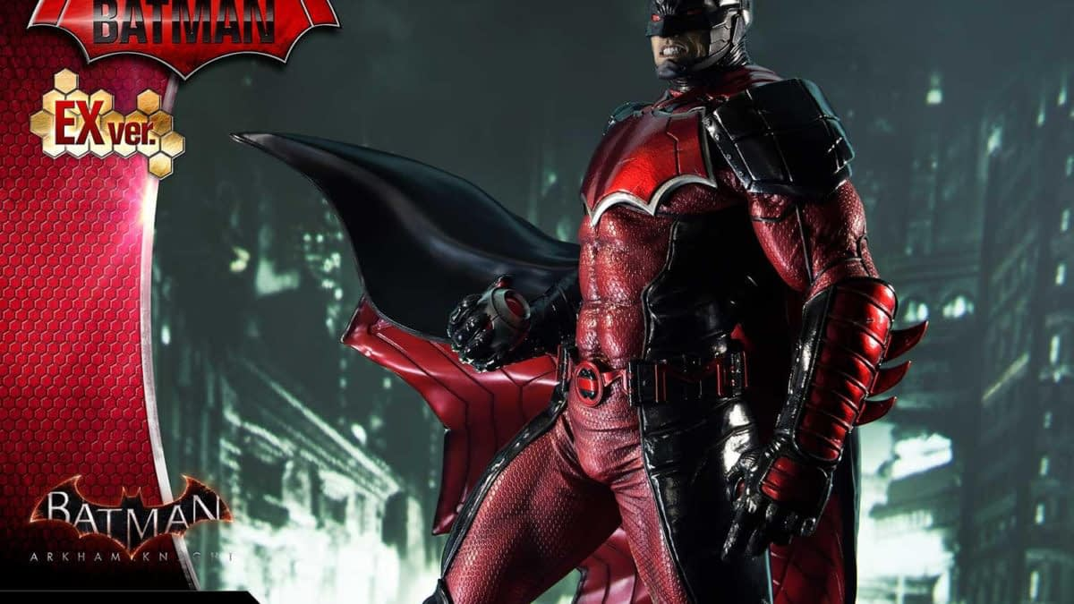 Batman Travels of the Year 3000 with New Prime 1 Studio Statue