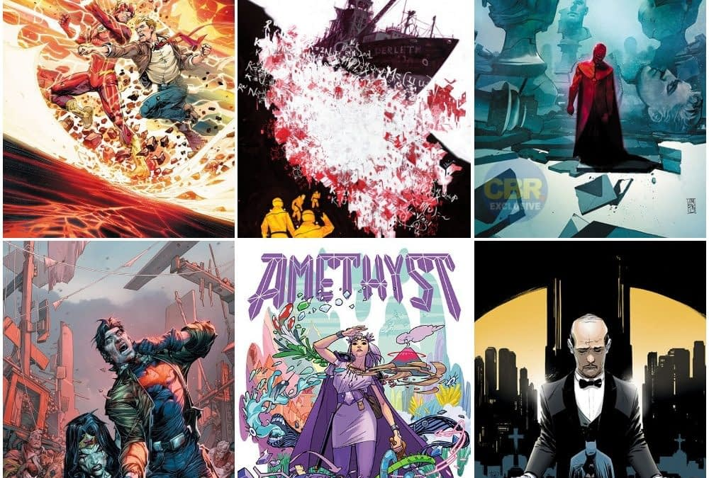 DC Comics February 2020 Solicitations, Amethyst, Aquaman, DCeased, Flash, Leviathan, Birds Of Prey, Frankensteined