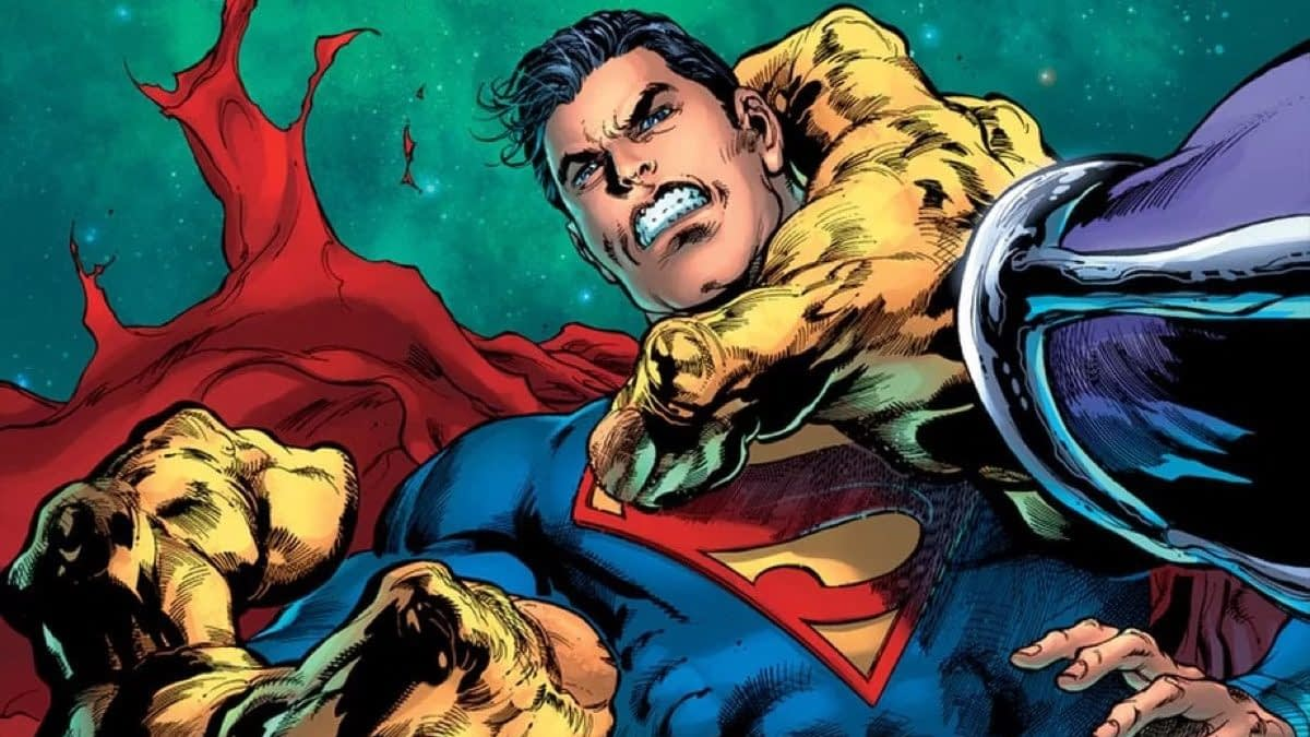 Mongul to use Earth as a Toilet in February's Superman #20