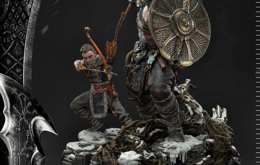 Own Ivaldi's Deadly Mist Armor with the New God of War Statue