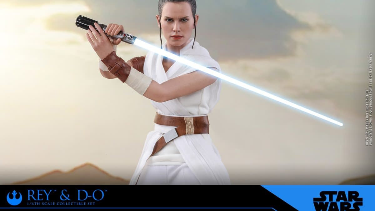 'Star Wars: Rise of Skywalker' Rey and D-O Coming From Hot Toys