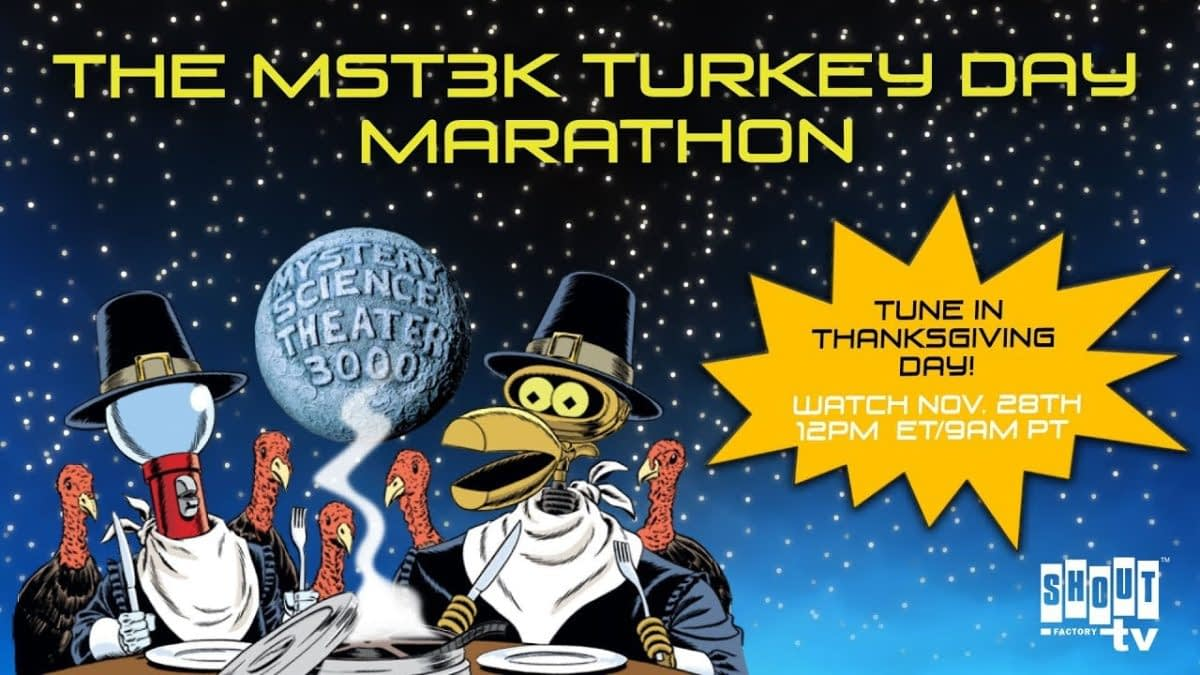 """MST3K"" Announces Their Annual Turkey Day Event For 2019"