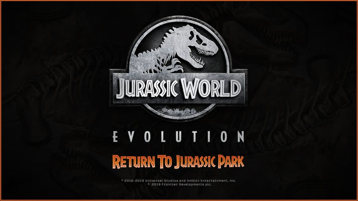 """Jurassic World Evolution"" Is Getting ""Return To Jurassic Park"" DLC"