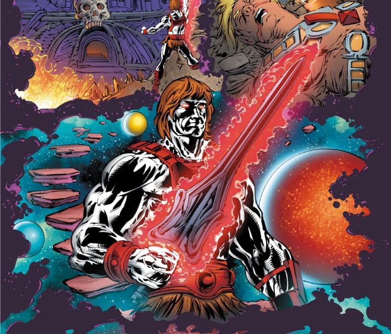 DC Comics Introduces the Anti-Eternia He-Man - Direct From German Audiocassettes of 1985 - 9-Page Preview