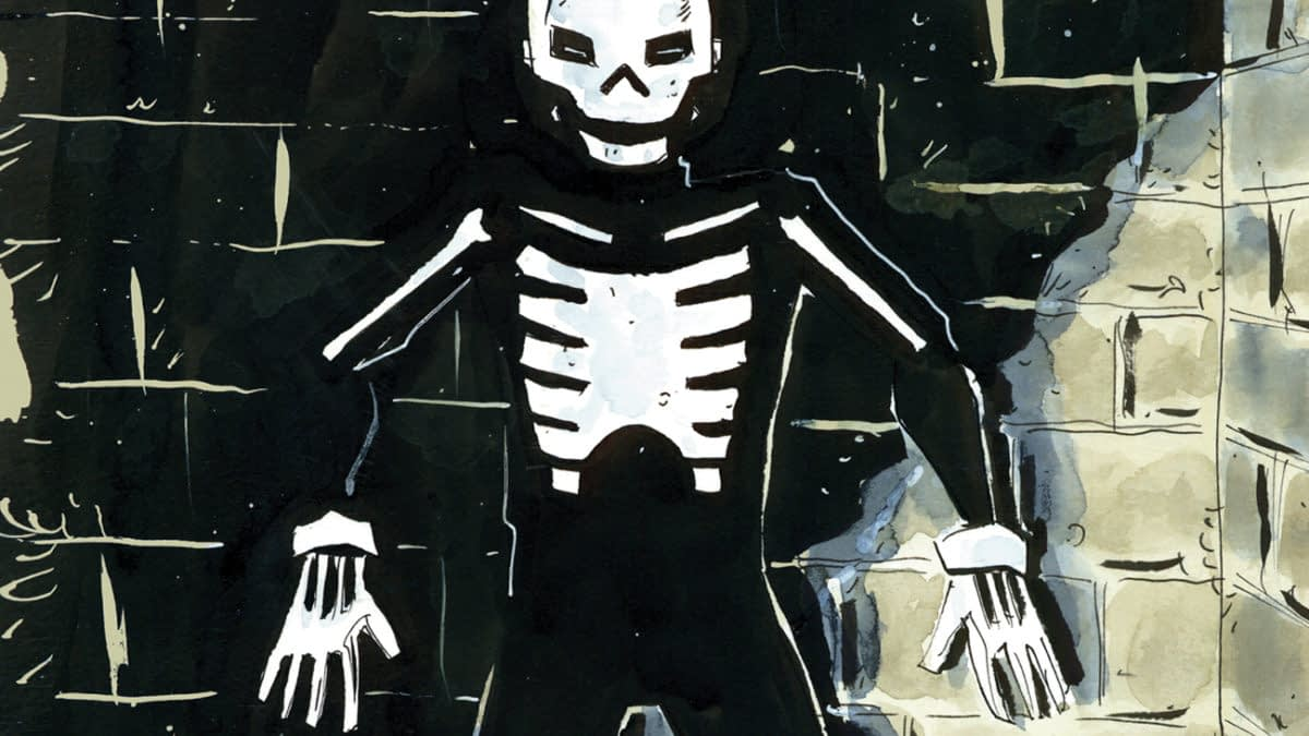 BEHOLD: Jeff Lemire's FOC Variant Cover for Skulldigger & Skeleton Boy #1