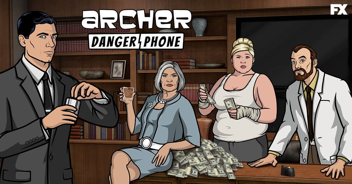 "Disruptor Beam Reveals New FXX Mobile Game ""Archer: Danger Phone"""