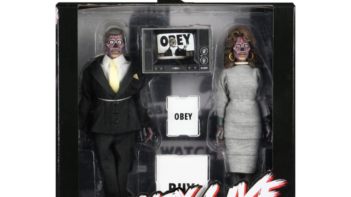 'They Live' NECA 2 Pack Final Packaging Shots Revealed