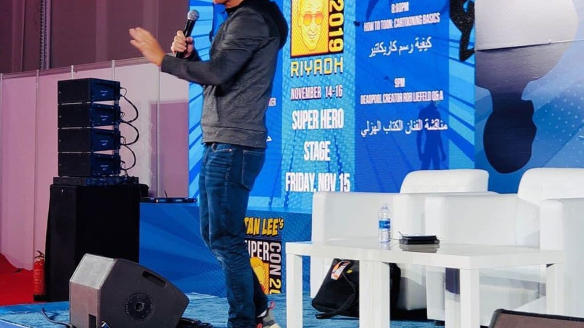 Rob Liefeld's Struggle With Clothing Policies in Saudi Arabia