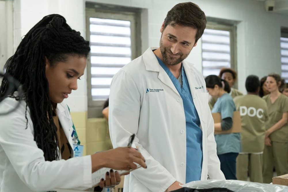 """New Amsterdam"" Season 2 ""The Island"" Looks More Like ""Orange is the New Amsterdam"" [PREVIEW]"