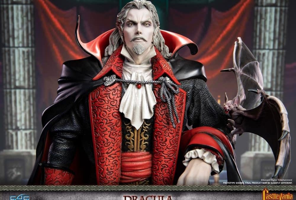 Castlevania Is Ready for Your Return to Fight Dracula in New Statue