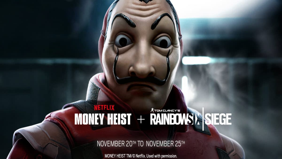 """Rainbow Six Siege"" Gets A New Timed Event With Netflix's ""Money Heist"""