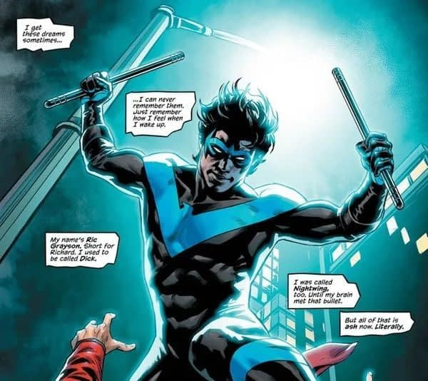 Nightwing #66 Spoilers - Ric Grayson No More