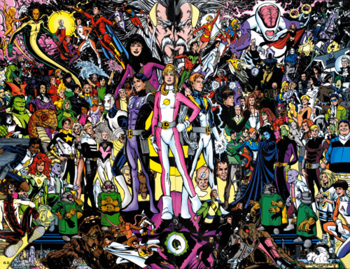 Warners Are Working On A Legion Of Superheroes Movie